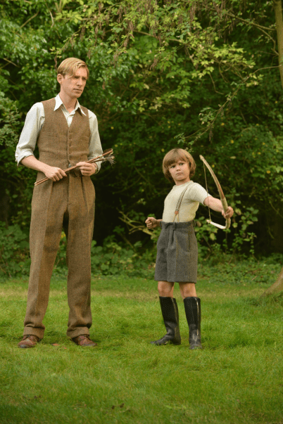 Domhnall Gleeson and Will Tilston star in GOODBYE CHRISTOPHER ROBIN.
