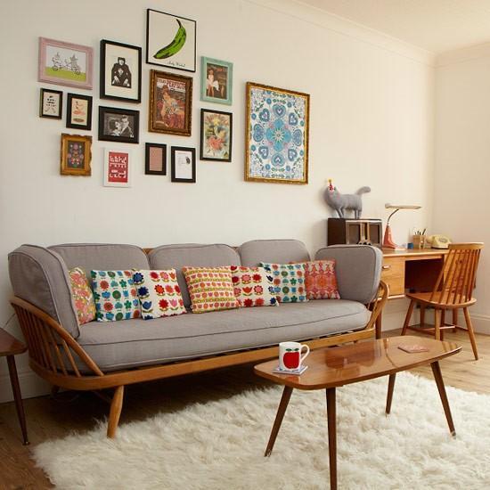 retro small living room