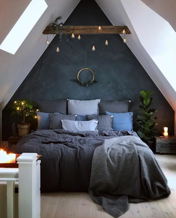 Attic Transformation Small Bedroom Ideas