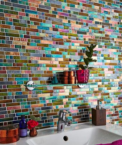 Creative Recycled CDs Kitchen Backsplash Ideas