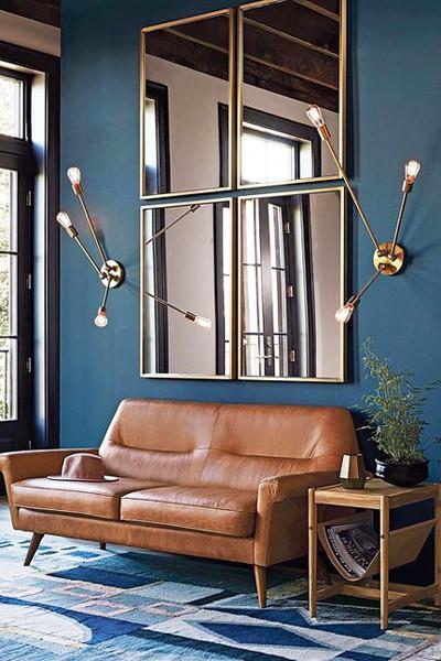 Mirror Modern Living Room Ideas