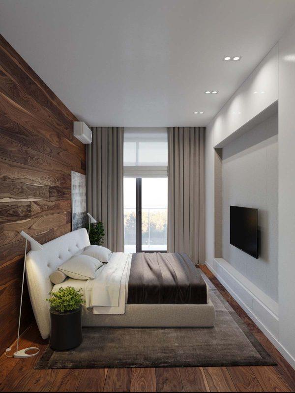 Modern Sleek Small Bedroom Ideas