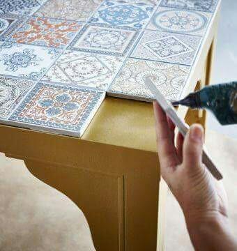 tiling kitchen island