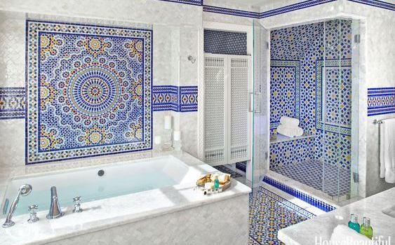 Tuscan bathroom wall decor