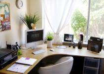 home office desk l shape