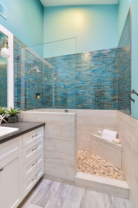 ocean bathroom wall decor