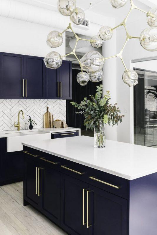 Artsy Shape Chandelier Kitchen Lighting