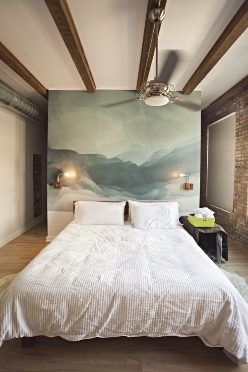 artwork headboard ideas