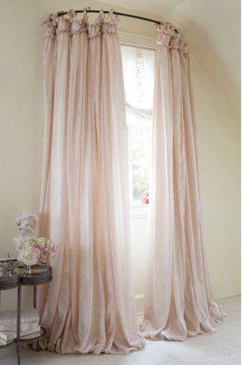 corner window treatment ideas