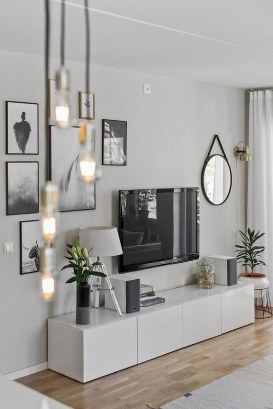 living room wall décor ideas