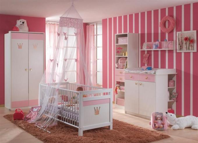 pink girl room ideas