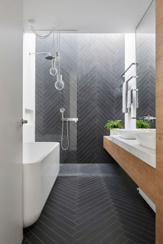 23 Stylish Small Bathroom Ideas To The Big Room Statement - Small-bathroom-design