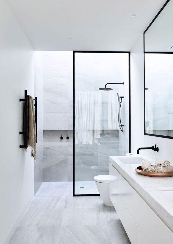 small bathroom ideas white