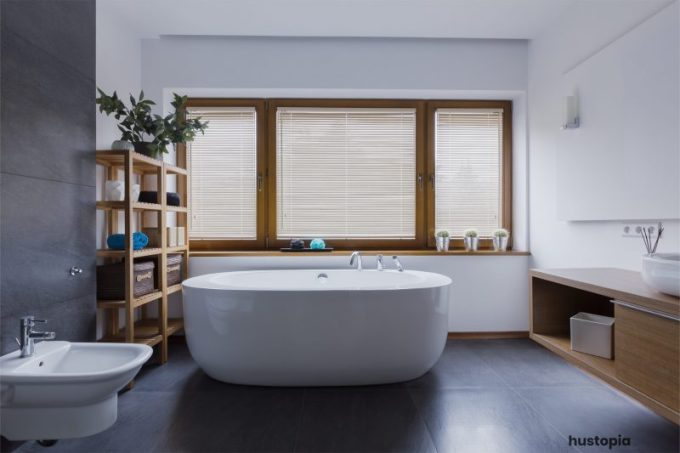 Minimalist Bathroom Ideas with Natural Touch