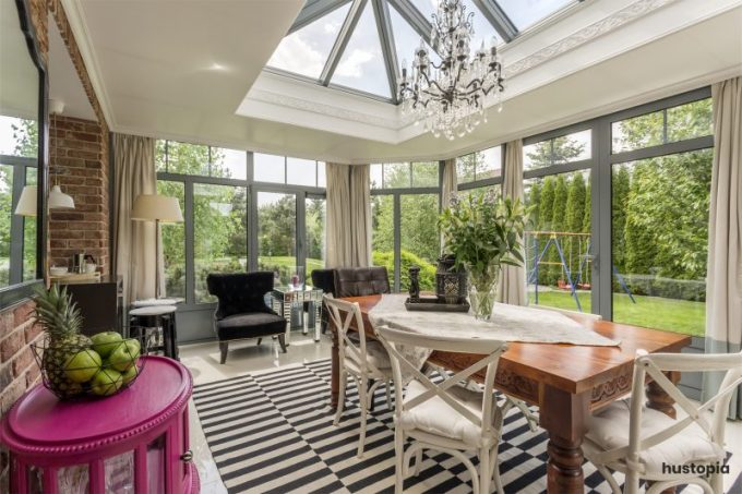 Mix and match sunroom ideas