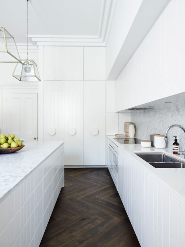 Bold Kitchen Floor
