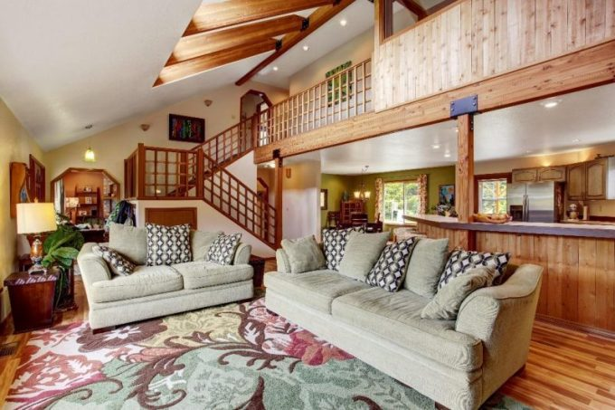 Homey Rustic Living Room Ideas