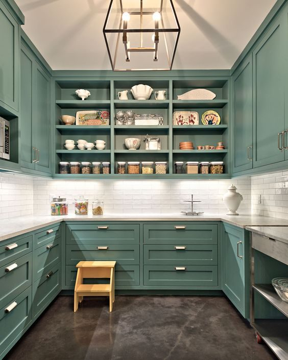 Wood Kitchen Pantry Ideas
