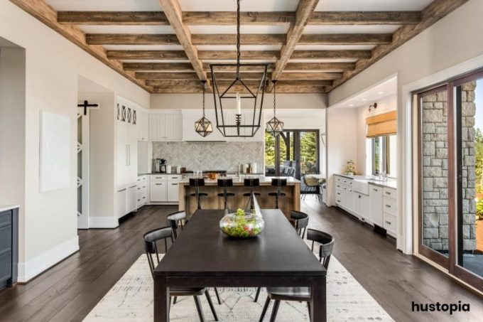 Ceiling Country Kitchen