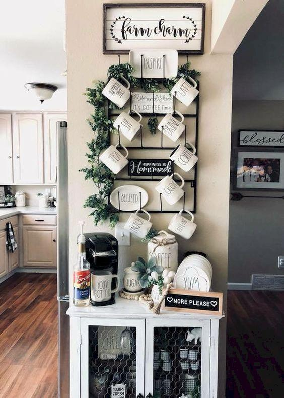 mug hanging shelf