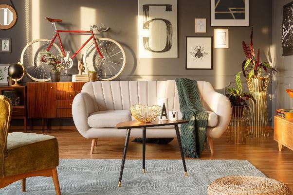 scandinavian contemporary living room
