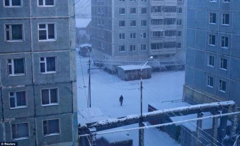 Panelové domy z dob Sovětského svazu