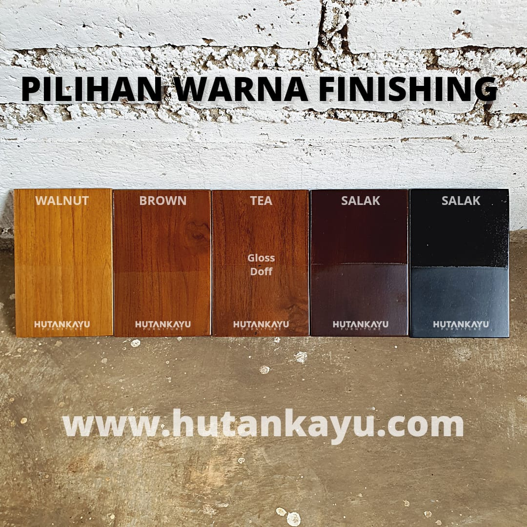 Pilihan Warna Finishing Hutankayu Furniture Mebel Jati Jepara
