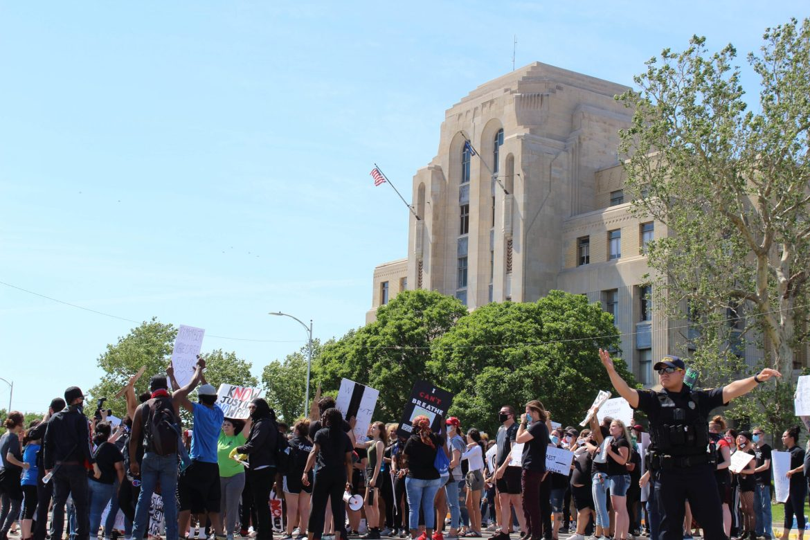 Peaceful protest recognizes systemic violence, importance of organizing