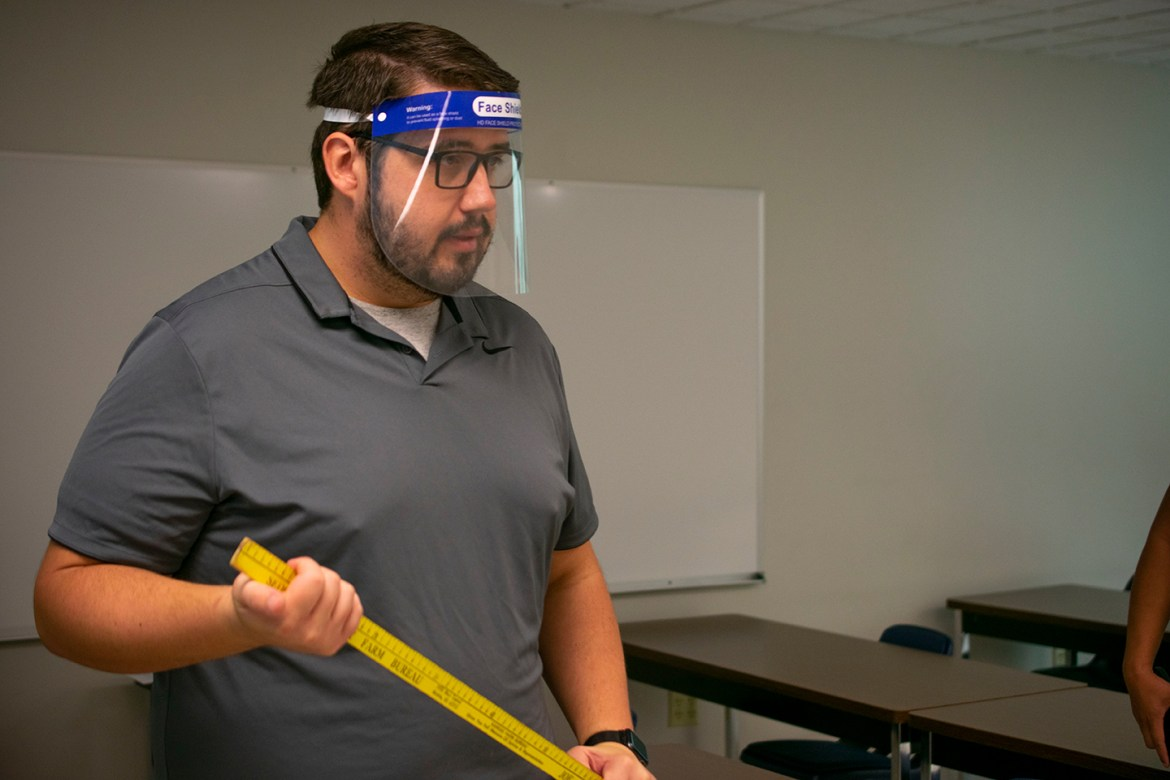 HutchCC instructors mask up for a new school year