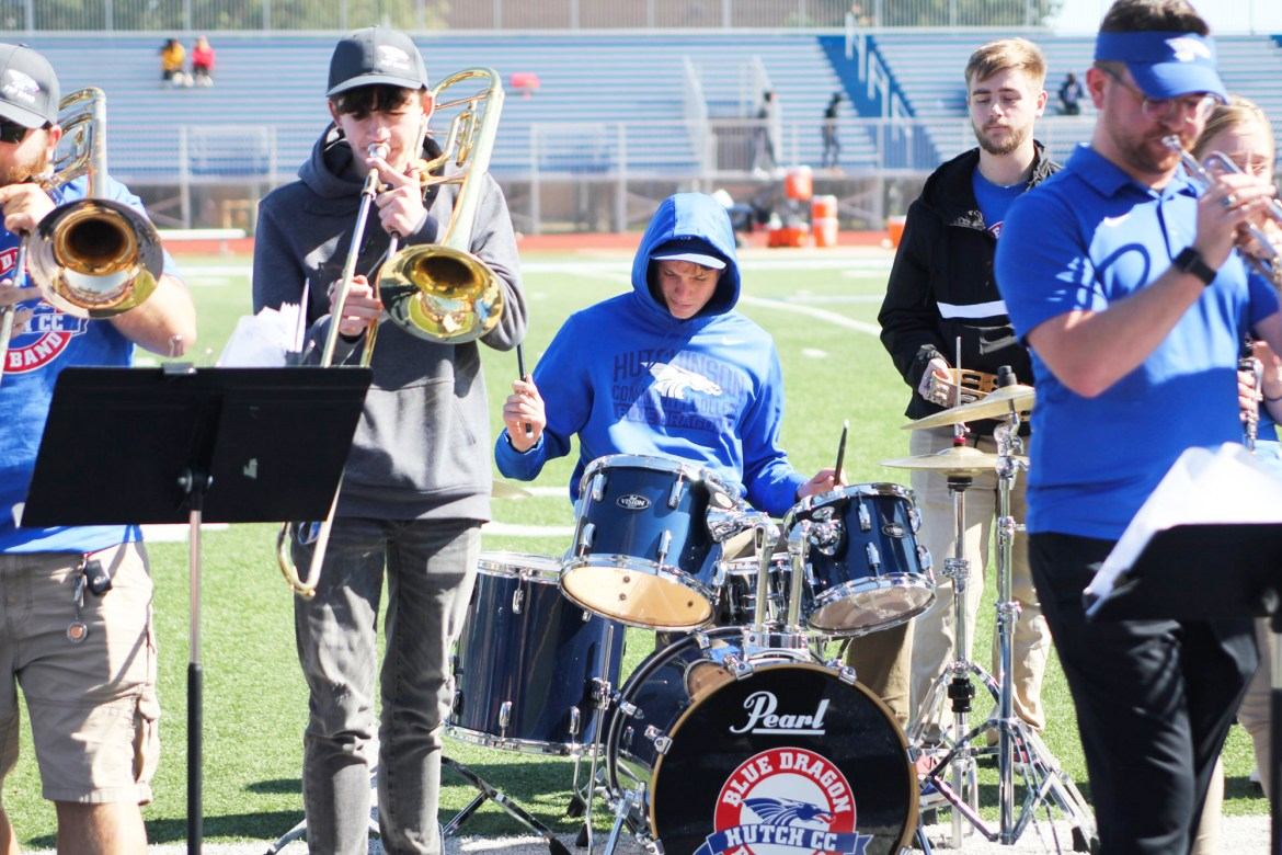 And the band plays on – Changes from pandemic impact HutchCC pep band