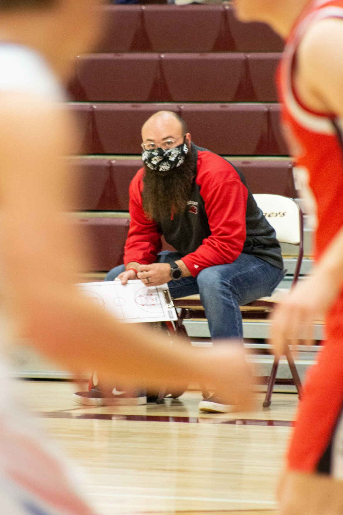 Continuing Wayne's legacy: HutchCC instructor coaching for cousin
