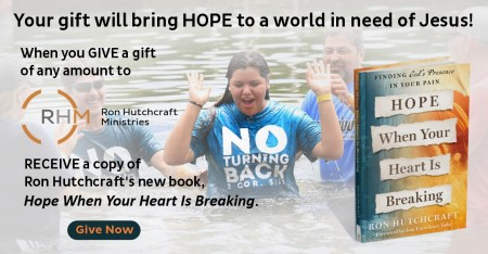 Watch Ron Hutchcraft share about his new book, Hope When Your Heart Is Breaking.