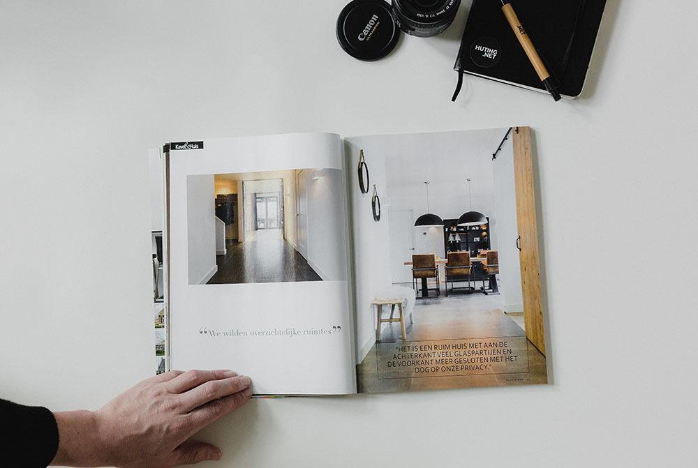 Published Kavel en Huis magazine - Interior photography