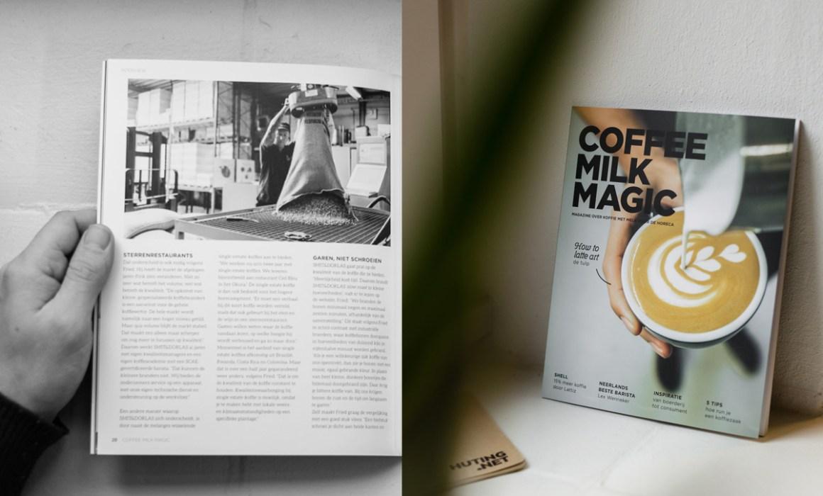 Publicatie Coffee Milk Magic magazine Smit en Dorlas koffie CMM magazine 03