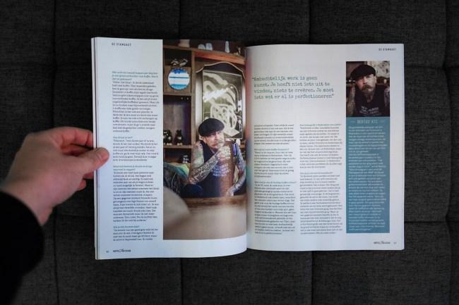 Huting.net Jurriaan Nijmegen Fotoshoot Bertus Schorem haarsnijder en barbier Rotterdam | KoffieTcacao magazine