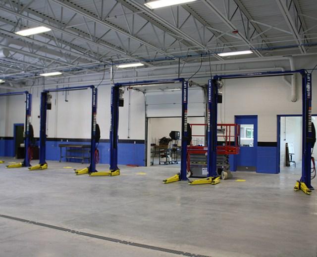 Nashua Community College<br /> Automotive Training Addition<br /> Nashua, NH
