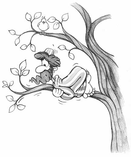 zacchaeus-in-a-tree