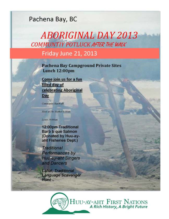 Aboriginal Day 2013