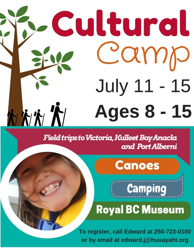 Cultural Camp 2016