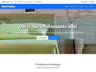 Site Catálogo de Produtos