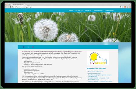 De nieuwe site!