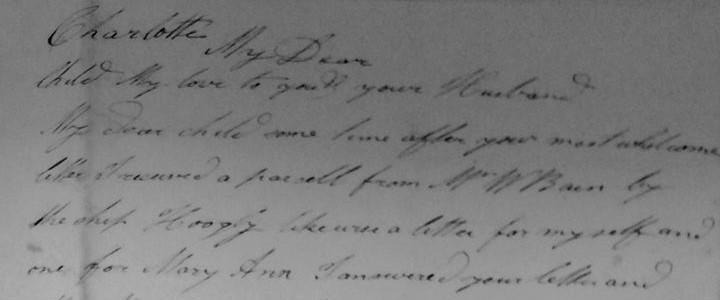 De brief van Stuart Gibson aan zijn dochter Charlotte