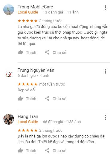 Review ga Đà Lạt