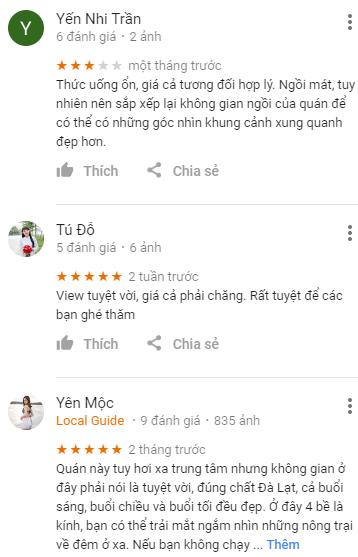 Review quán cafe Panorama Đà Lạt