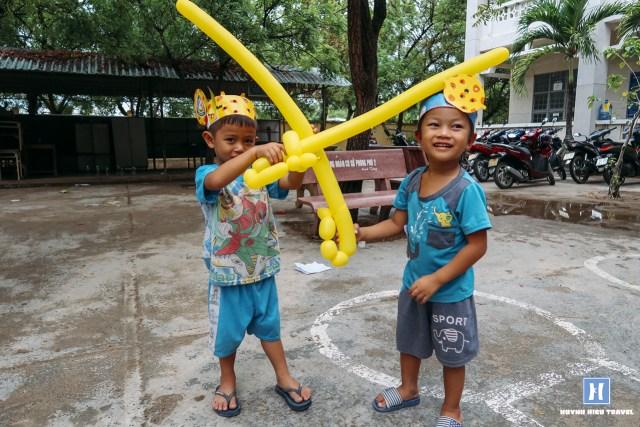 Trẻ em vùng nông thôn Việt Nam