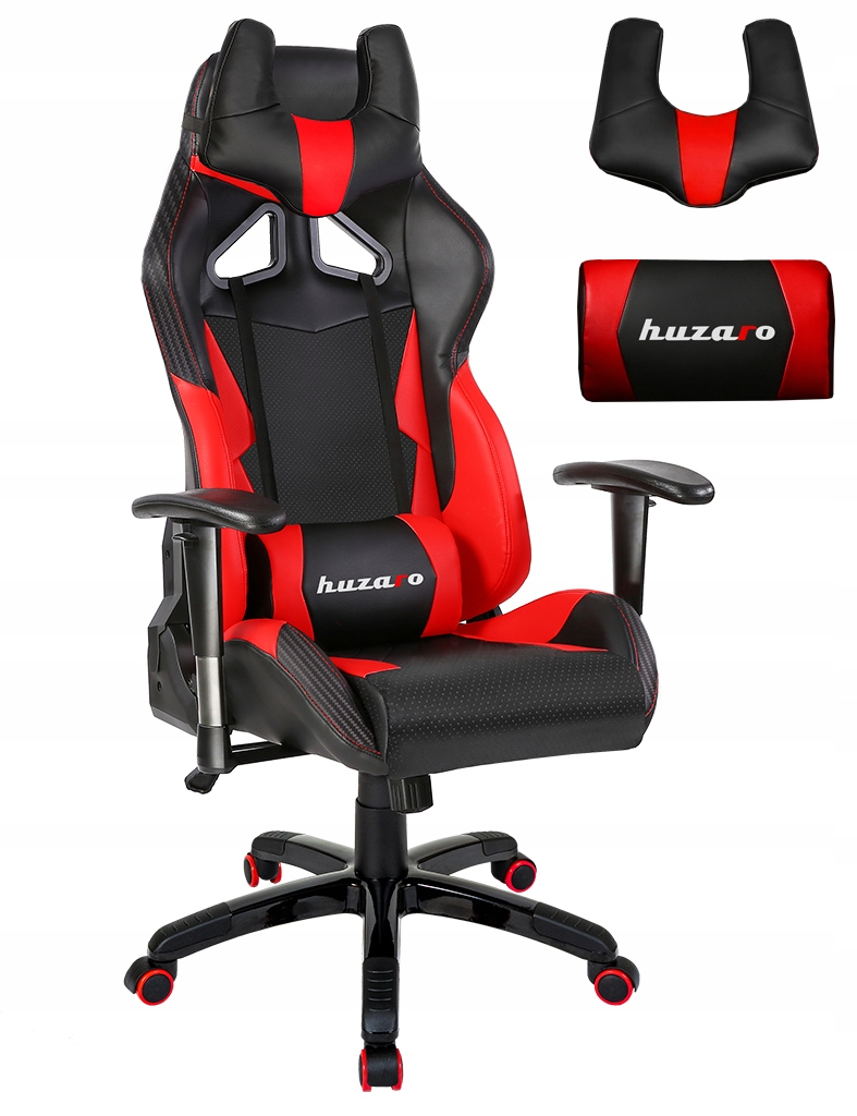 Gaming Chairs HUZARO FORCE 7.2 RED