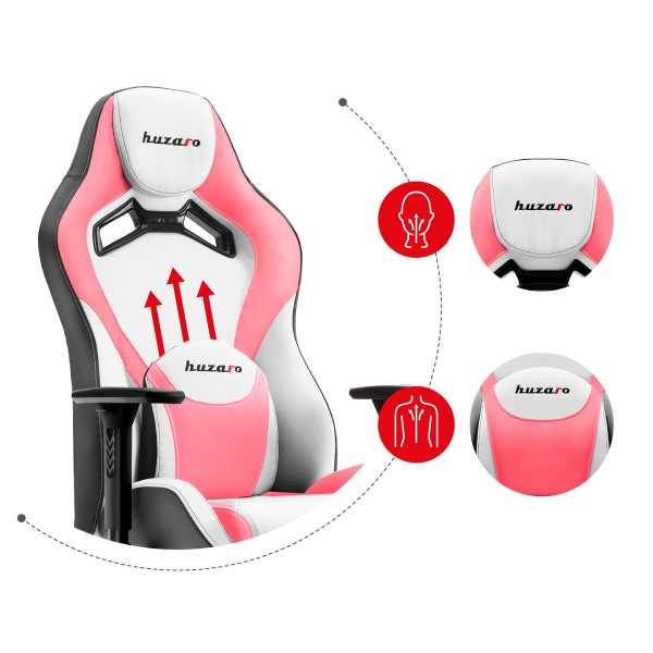 Gaming chair Force 7.3 pink3