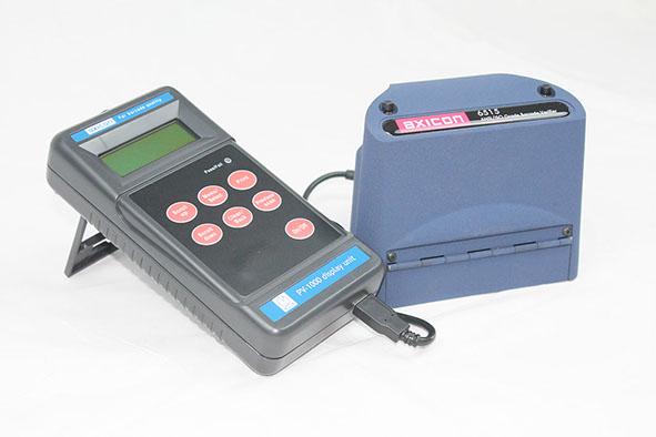 Axicon portible verifier