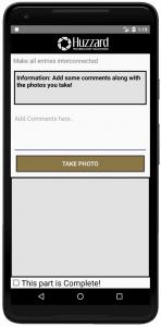 Item screen & data input - screen