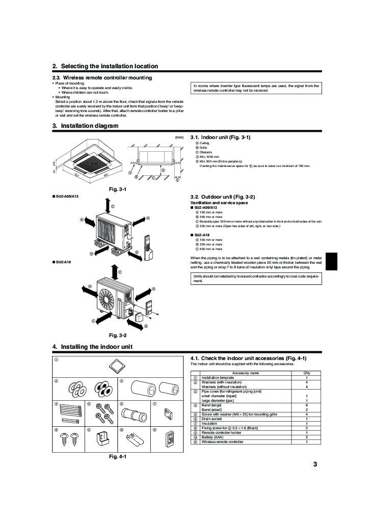 Mitsubishi Air Conditioner Remote Control Rkx502a001b